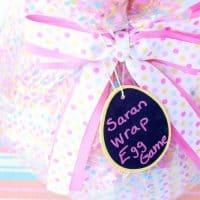 Saran Wrap Easter Egg Game Idea + Filler Ideas!