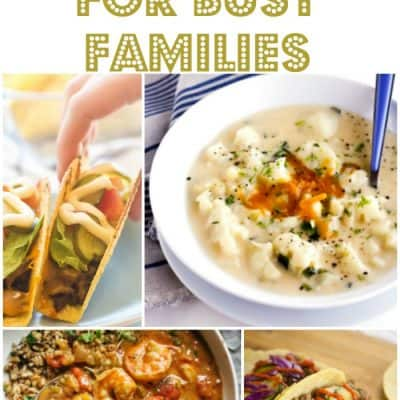 Dinner Ideas for Busy Families – Week 31