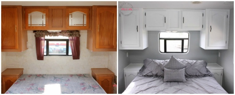 Easy RV Makeover With Instructions To Remodel RV Interior, Paint RV Walls,  Paint 2 Awesome Ideas