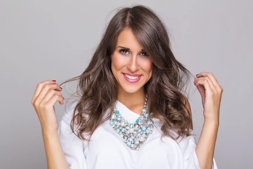 How to wear pearls with a trendy look. Pearls are in and you can revive your old pearls!