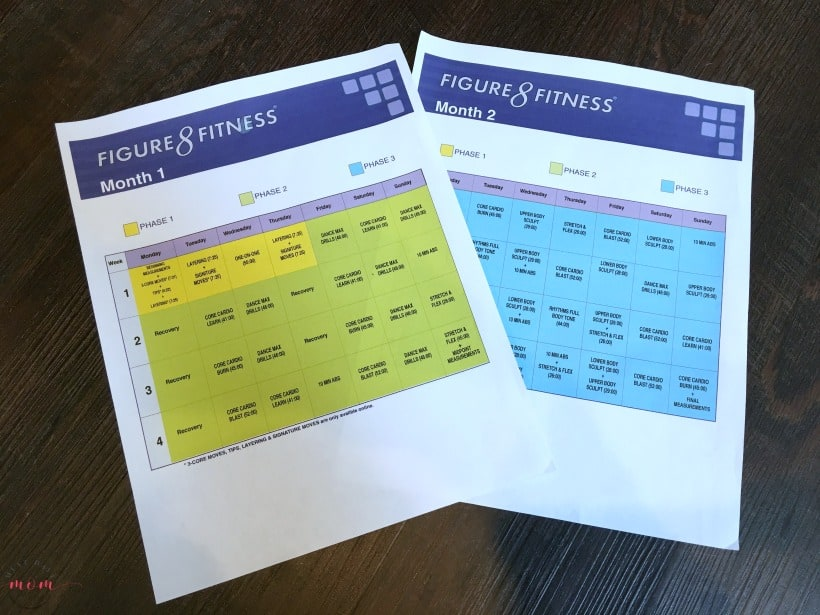 Fun Dance Workout that actually works! Printable calendars, eating plan, and you don't have to buy equipment or have a large space to workout in!