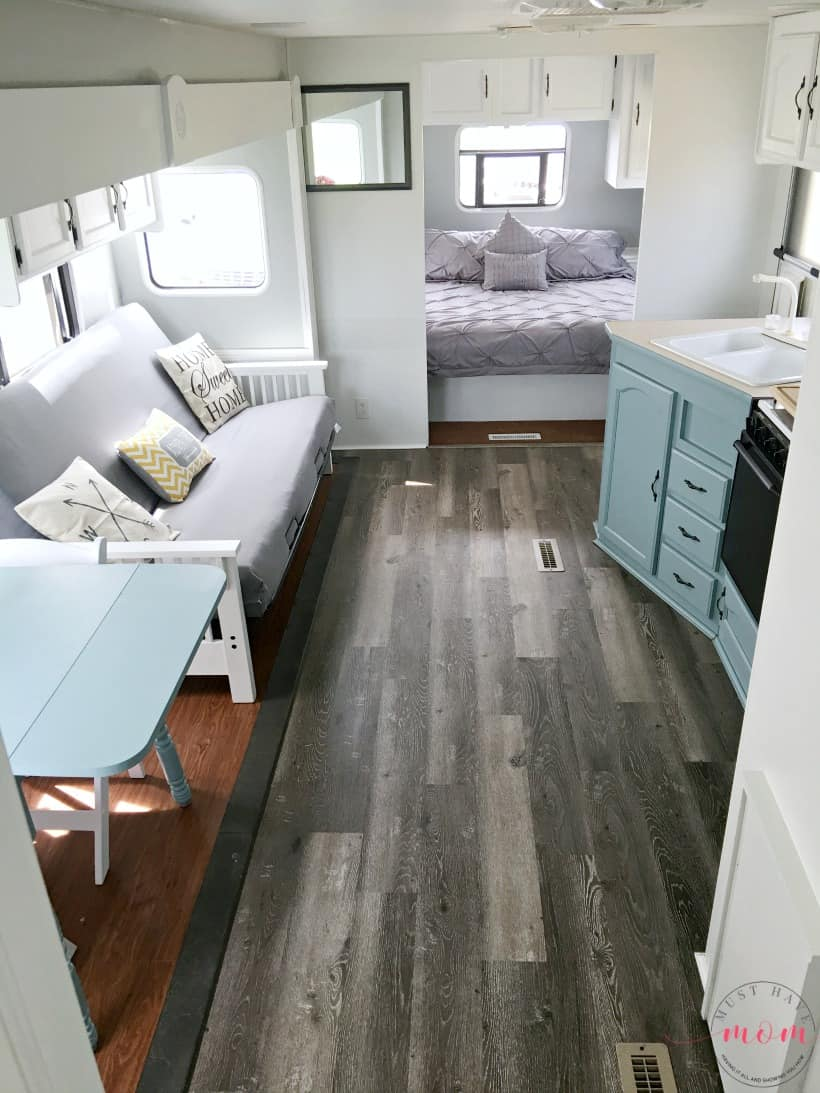 Easy RV Makeover With Instructions To Remodel RV Interior, Paint RV Walls,  Paint 2 Gallery