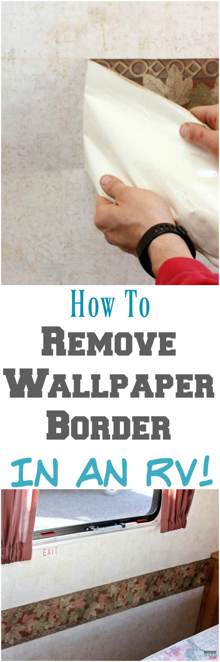 How To Remove Paint From Wrought Iron Patio Furniture: How To Remove Wallpaper Border In An RV