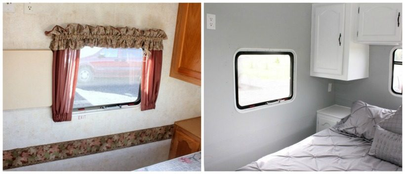 rv wallpaper border removed and painted with beyond paint must have mom