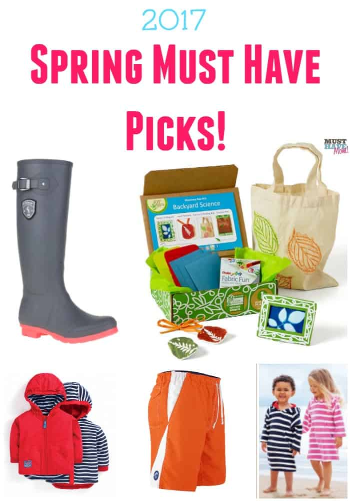 2017 Spring Must Haves for busy families! See my top picks for Spring! Must have products and problem solving solutions.