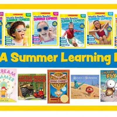 Weekly Reader Summer Express Program + $100 Visa Gift Card Giveaway!
