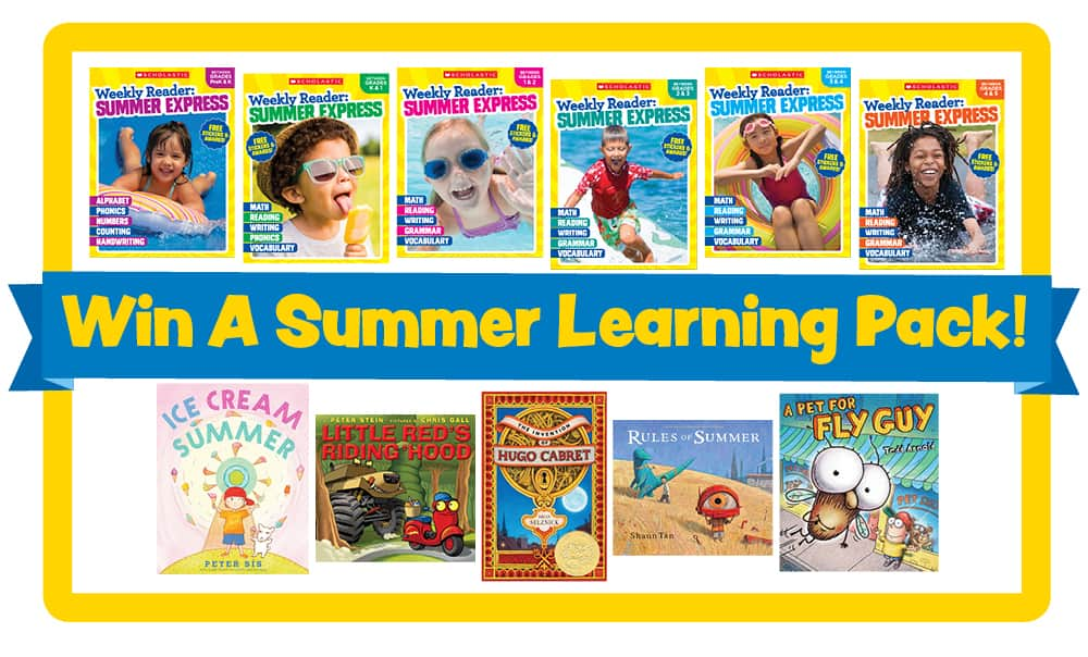 Scholastic Weekly Reader Summer Express program helps kids learn all summer and not forget what they learned during the school year!