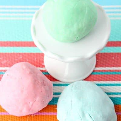 Lush Fun Copycat Bubble Bath Playdough Recipe