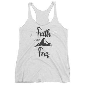 Faith Over Fear – Sporty Tank