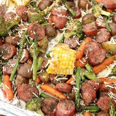 Sheet Pan Dinners Easy Sausage & Veggie Recipe!