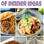 Seven Nights of Dinner Ideas- Week 36