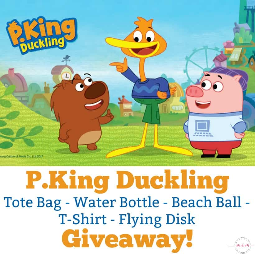 P. King Duckling prize pack giveaway at Must Have Mom!
