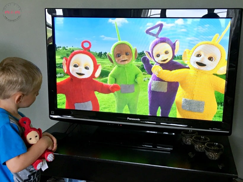 Teletubbies Bubbles DVD Prize Pack and Amazon Gift Card Giveaway!