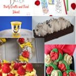 Disney's Beauty and the Beast Party Crafts & Food Ideas!