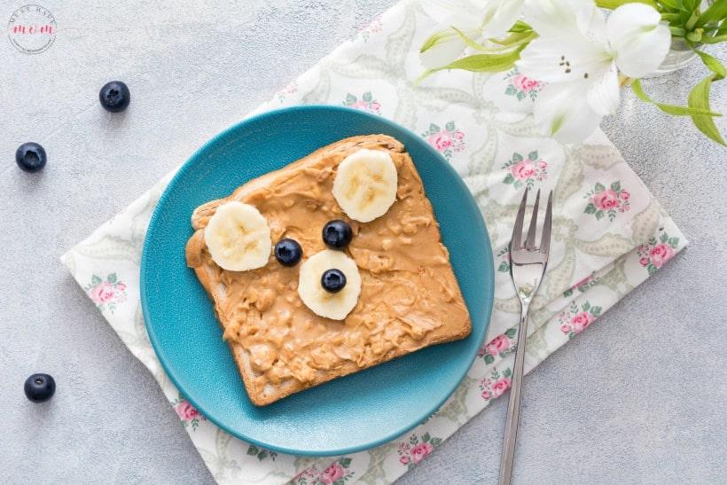6 teddy bear breakfast ideas! Fun breakfast ideas for kids or fun snack ideas.