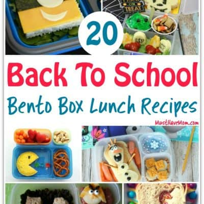 20 Bento Box Recipes For Back To School