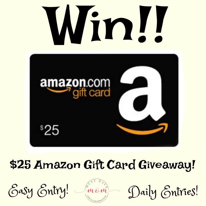 $25 Amazon gift card giveaway!