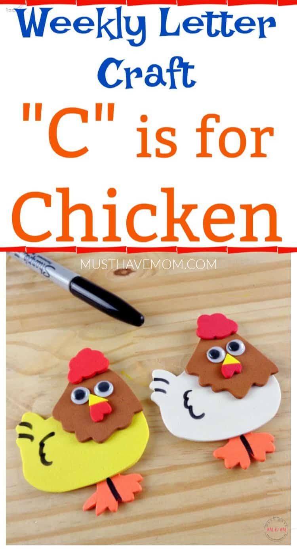 letter C craft idea