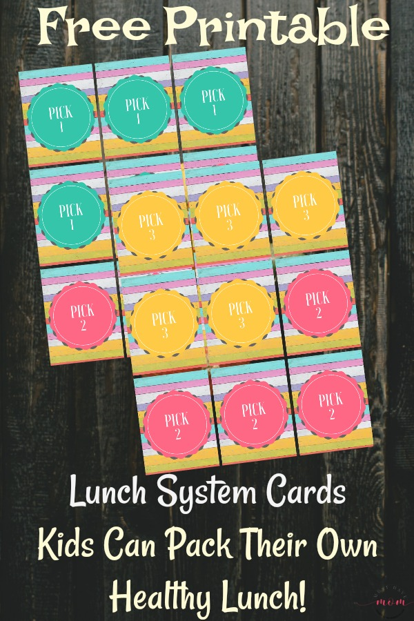 Quick & easy tips to pack a healthy lunch everyday! Make ahead lunches and label system so kids can pack their own healthy lunch!