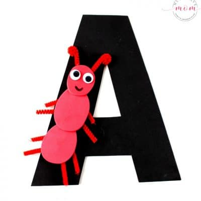 "Letter Of The Week Letter Craft! Letter ""A"" is for Ant"