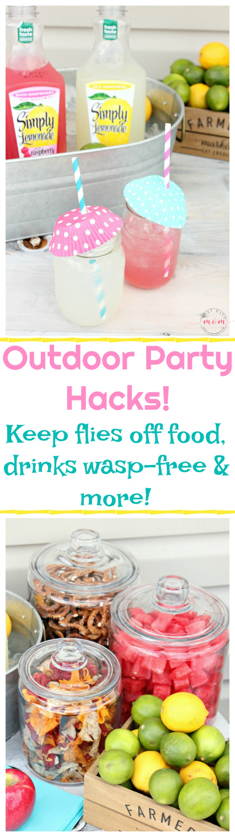 how to keep food hot at outdoor party