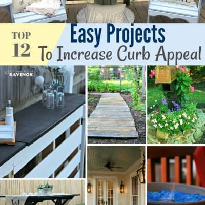 12 Easy Projects To Increase Curb Appeal