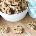 Healthy Oatmeal Chocolate Chip No Bake Bars