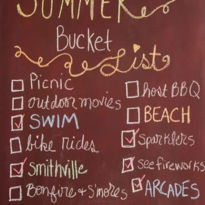 Summer Bucket List Ideas for Kids and Adults