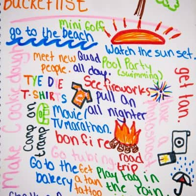 7 Free Printable Summer Bucket Lists