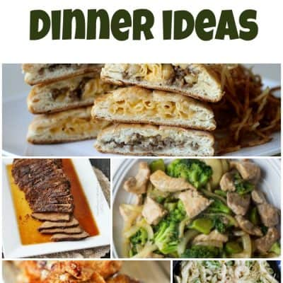 Meal Planning Dinner Ideas – Week 44