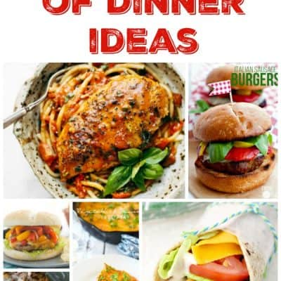 Seven Nights of Dinner Ideas – Week 45