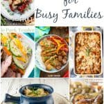 Dinner Ideas for Busy Families – Week 46