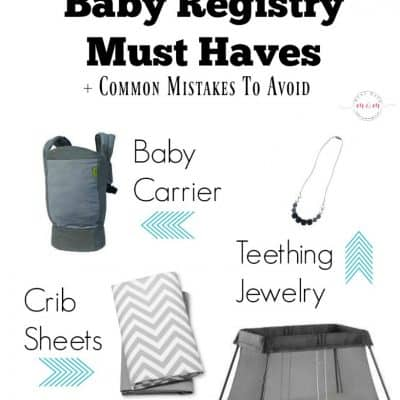 Target Baby Registry Must Haves + Common Mistakes To Avoid