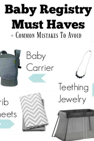 Baby registry must haves for new moms! Read this baby registry essentials checklist plus registry do's and don'ts. A must read for new moms.