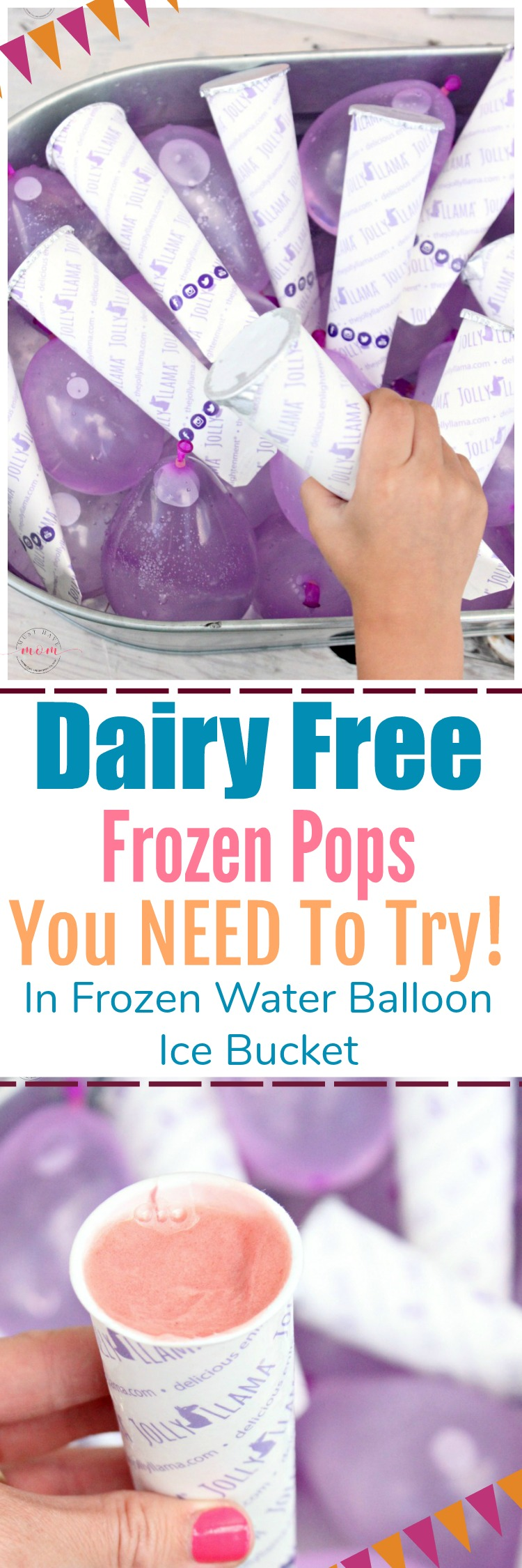 Do THIS genius ice bucket party hack at your next party! Use frozen water balloons to keep sorbet pops frozen and then have a water balloon fight afterwards!