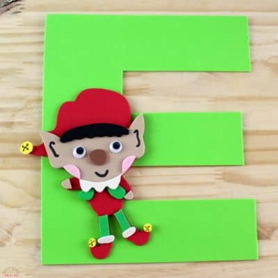 Letter of the Week Letter Craft! E is for Elf