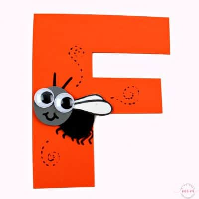 Letter of the Week Letter Craft! F is for Fly