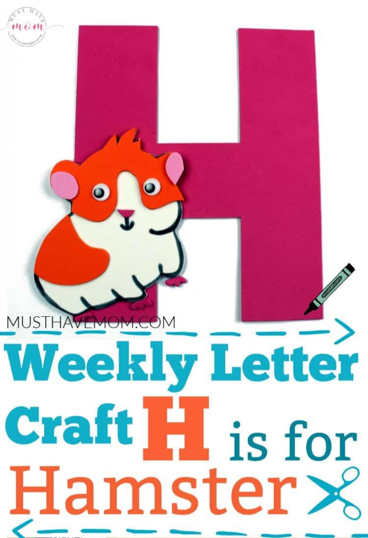 letter h alphabet craft