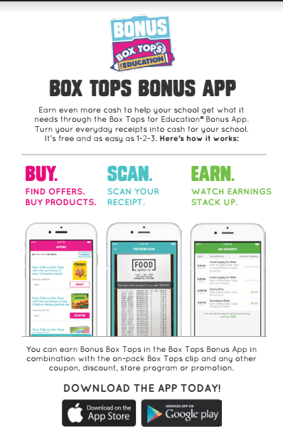 How to earn MORE free money for your child's school with the box tops app!