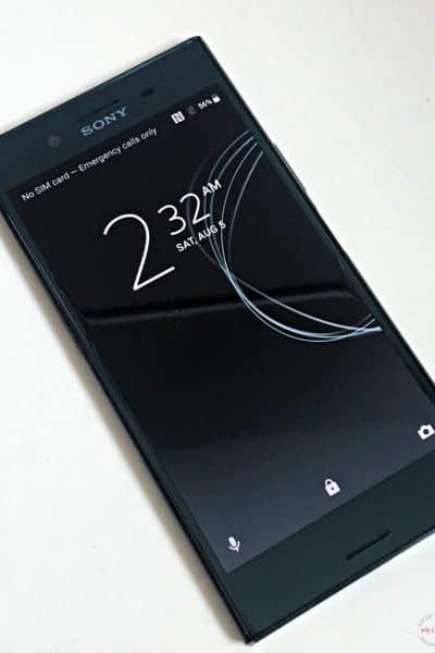Sony Xperia XZ Premium phone review