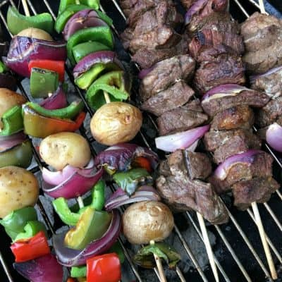 BEST Beef Kabob Marinade Recipe