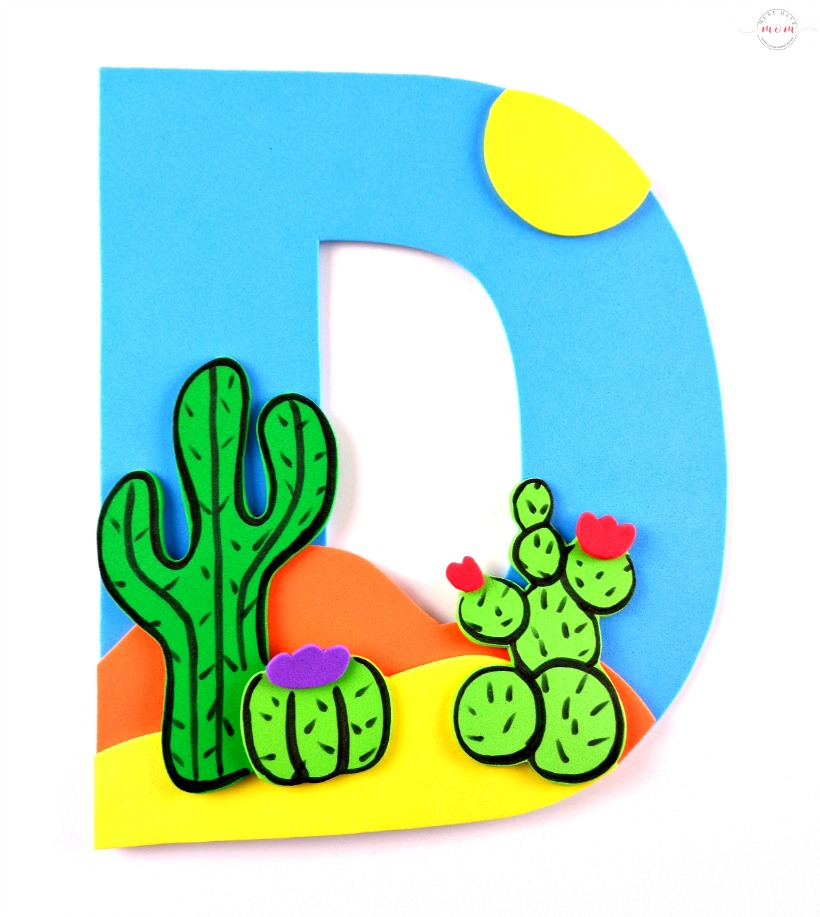 Letter D Templates.Letter Of The Week Letter Craft D Is For Desert Must Have Mom