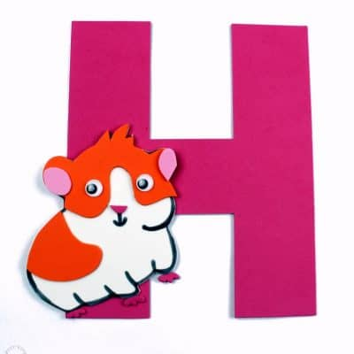 Letter of the Week Letter Craft! H is for Hamster