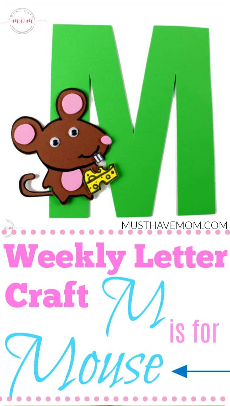 M is for Mouse craft