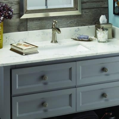 Easy Bathroom Vanity Upgrades You NEED to do This Weekend!