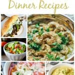Meal Planning Dinner Recipes – Week 48