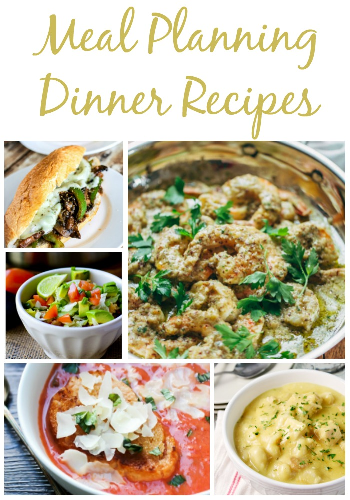 Meal Planning Dinner Recipes