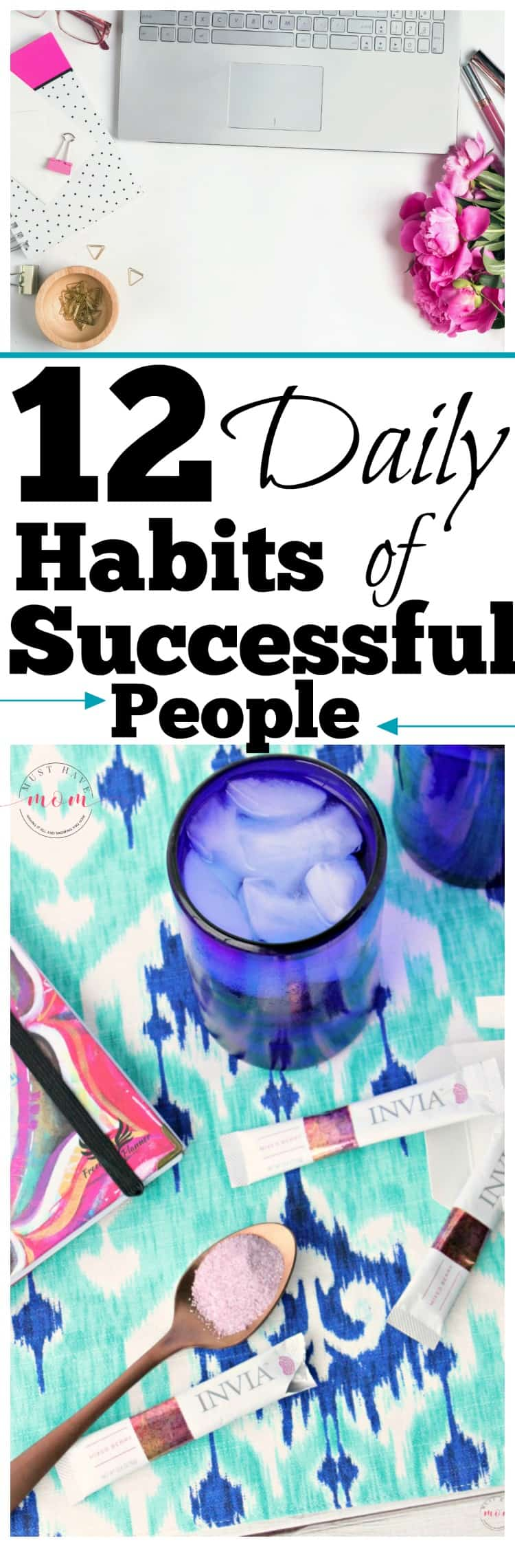 12 Daily habits of successful people! Adopt these daily routines and habits to increase focus, drive and success.
