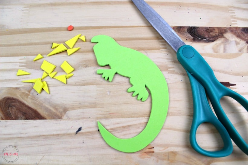 Iguana-craft-idea-for-kids  Inch Letter Template on sample request, sample business, basic cover,