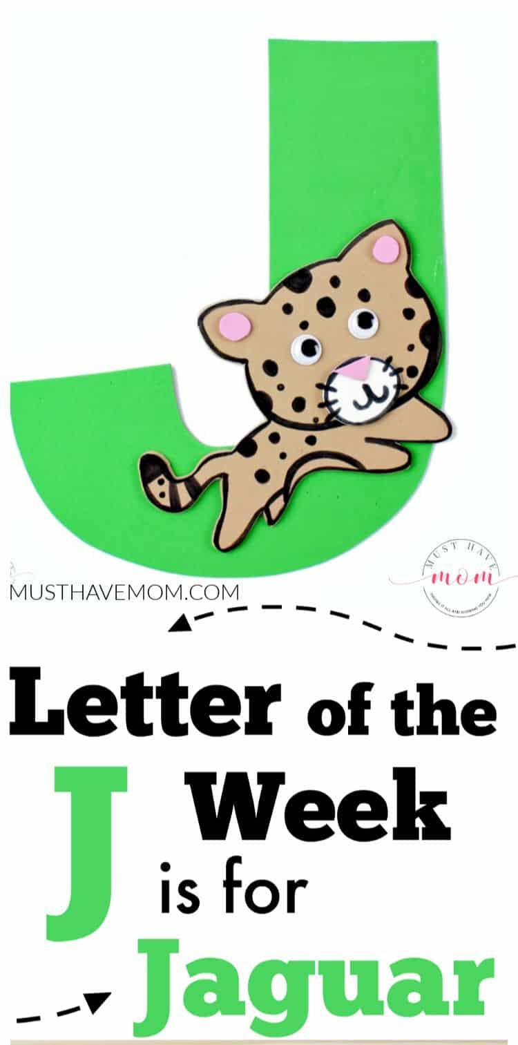 Letter J is for Jaguar Craft